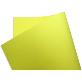 Papel Color Fluo - Yellow - 180g 30,5x30,5 - 30 Folhas