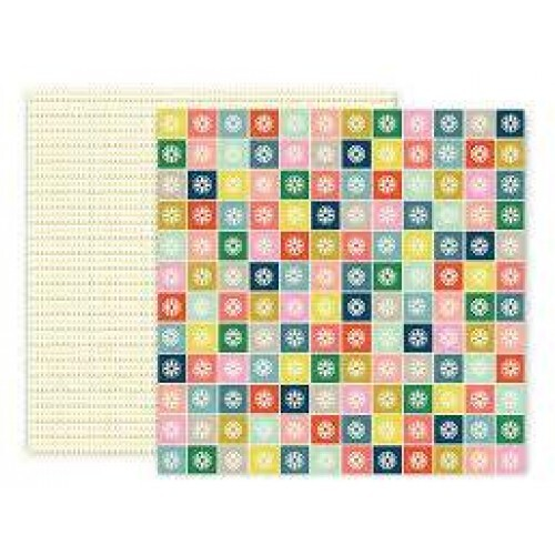 Papel Turn The Page 06 - Pink Paislee - 30,5x30,5