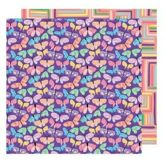 Papel Flutter By - Sunshine & Good Times - American Crafts
