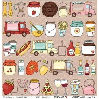 Papel All Together - Kitchen & Co Collection - Goodies - 30,5x30,5