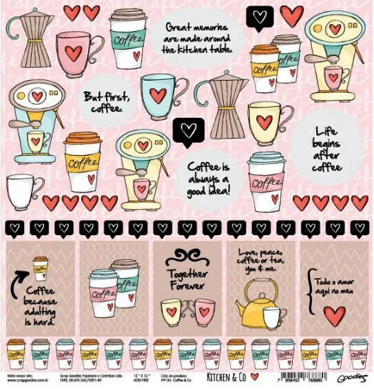 Papel Coffee & Co - Kitchen & Co Collection - Goodies - 30,5x30,5