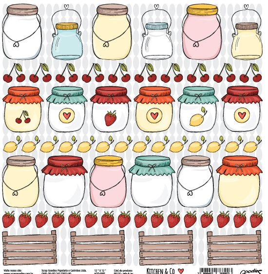 Papel Jelly & Jar - Kitchen & Co Collection - Goodies - 30,5x30,5