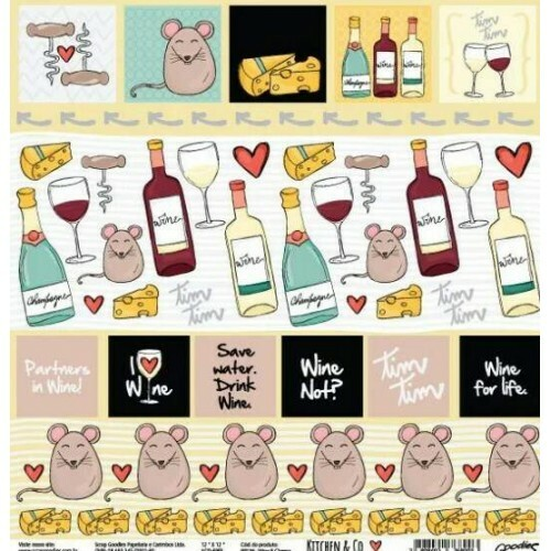 Papel Wine & Cheese - Kitchen & Co Collection - Goodies - 30,5x30,5