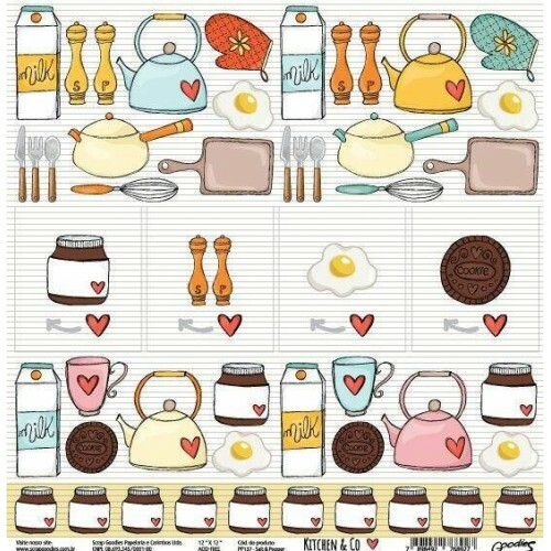 Papel Salt & Pepper - Kitchen & Co Collection - Goodies - 30,5x30,5