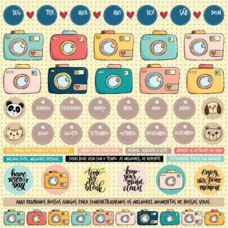 Papel Foto Click - Love This - Goodies - 30,5x30,5