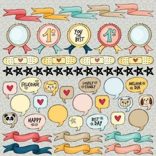 Papel Banners - Love This - Goodies - 30,5x30,5