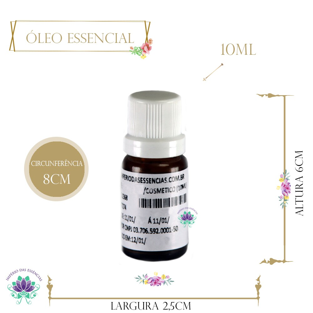 Óleo Essencial de Tea Tree - Melaleuca (10ml)