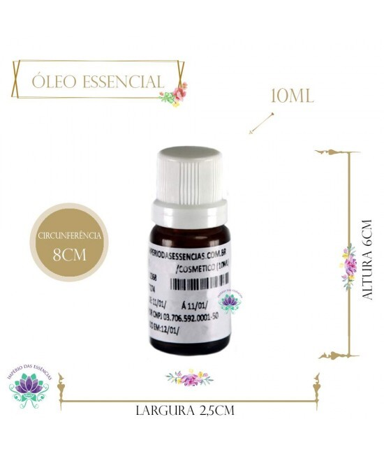 Óleo Essencial de Lemongrass (10ml)