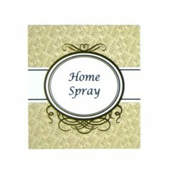 Etiqueta Home Spray Marrom (20un)