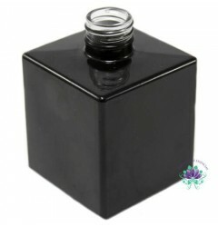 Vidro Cubo 250ml Preto Rosca 28/410 (PC)