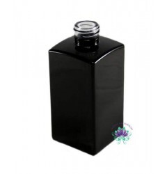 Vidro Paris 250ml Preto Rosca 28/410 (UN)