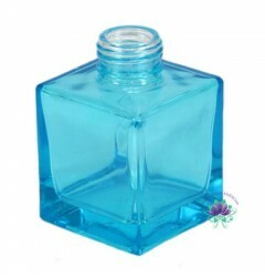 Vidro Cubo 100ml Azul Tiffany Rosca 28/410 (PC)