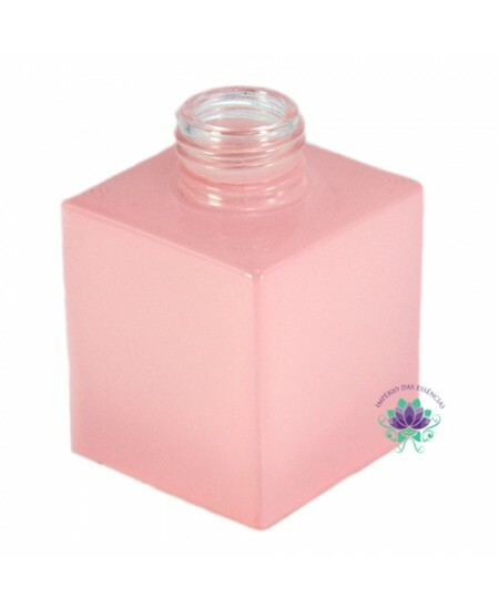 Vidro  Cubo 100ml Rosa Bebe Rosca 28/410 (PC)