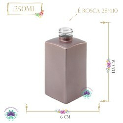 Vidro Paris Rosé 250ml Rosca 28/410 (1un)