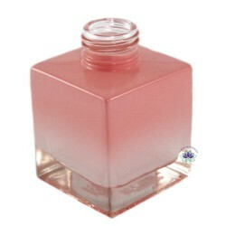 Vidro Cubo Rosa Degrade 100ml Rosca 28/410 (1un)