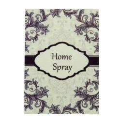 Etiqueta Home Spray Vintage Floral (20un)