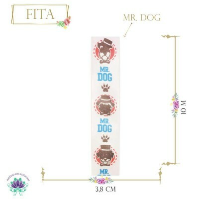 Fita de Poliéster Mr Dog (10m)