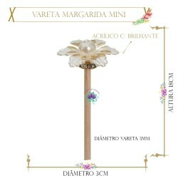 Vareta Margarida 17cm Mini (UN)