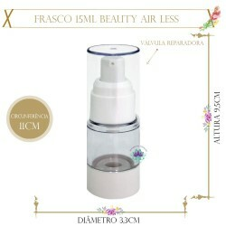 Frasco 15ml Beauty Air Less (1un)