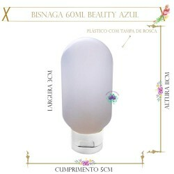 Bisnaga 60ml Beauty Azul(1un)