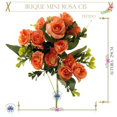 Buque Mini Rosa C15 Tecido 29cm (LP000104) (1Un)