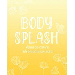 Etiqueta Body Splash Laranja (20un)