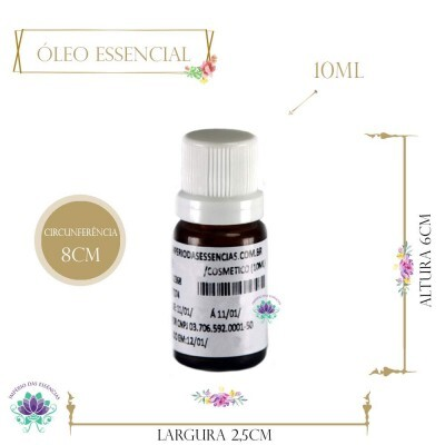 Óleo Essencial de Menta Tri Retrificada (10ml)