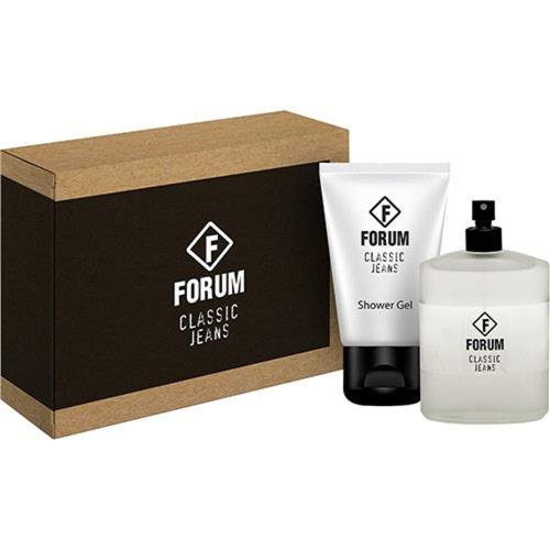Kit Unissex Perfume e Gel Forum Classic Jeans - 100ml