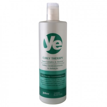 Máscara Curly Therapy Yellow - 500ml
