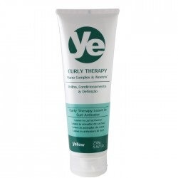 Ativador de Cachos Yellow Curly Therapy Leave in - 250ml
