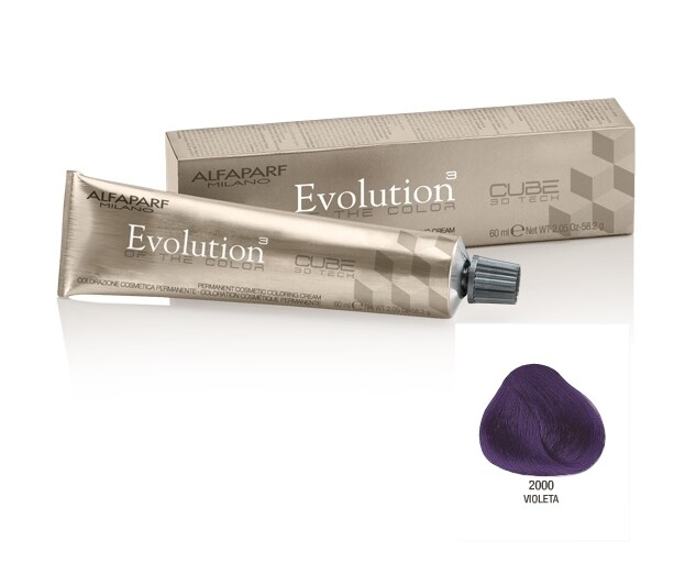 Coloração Alfaparf Evolution 2000 Violeta - 60ml