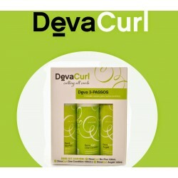 Kit 3 Passos Deva Curl - 120ml - No Poo + One Condition + Angéll