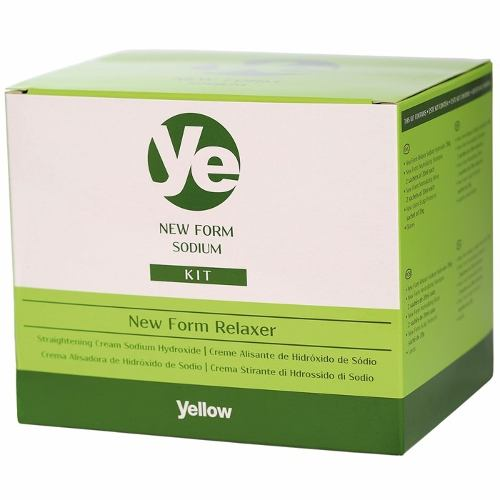 Kit Alisante Yellow New Form Hidróxido de Sódio - 230g