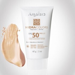 BB Cream Árago Hidracolors FPS 50 - Natural - 60g
