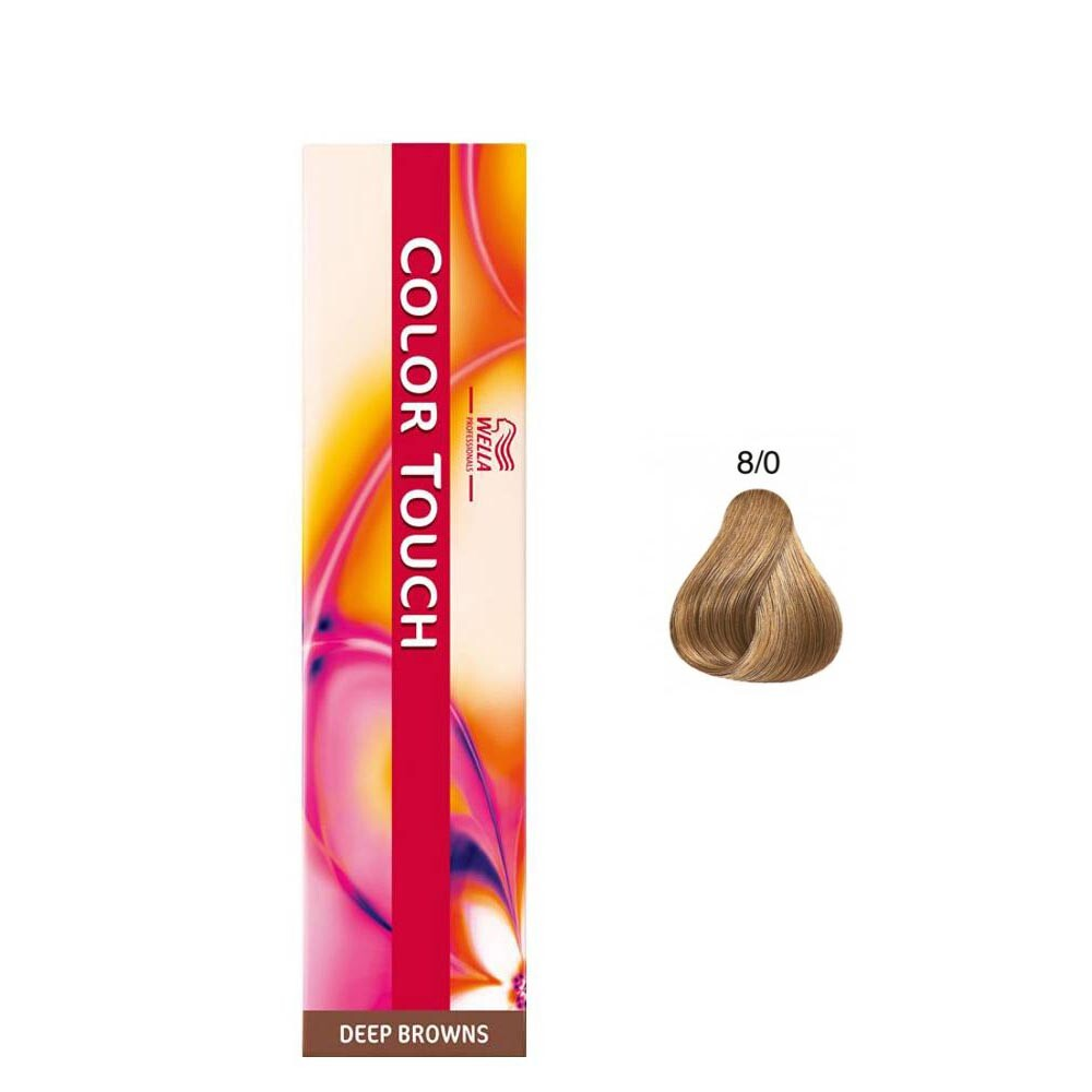 Tonalizante Wella Color Touch - 8/0 Louro Claro - 60g