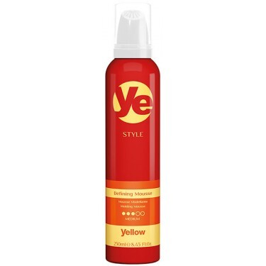Mousse Modelador - Yellow Style Defining Mousse - 250ml