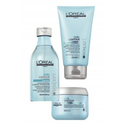 Kit Curl Contour LOréal - Shampoo + Máscara + Leave-in
