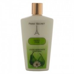 Loção Paris Secret Hidratante Corporal Sweet Pear - 250ml