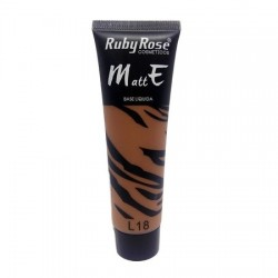 Base Liquida Matte Ruby Rose L18 - 29ml