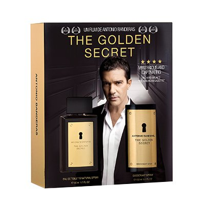 Kit The Golden Secret Antonio Banderas Perfume e Desodorante
