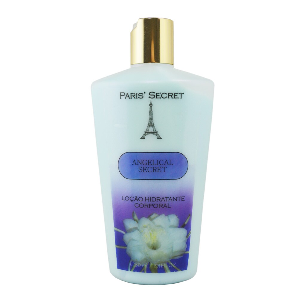 Loção Paris Secret Hidratante Corporal Angelical Secret - 250ml
