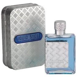 Perfume Masculino Liquid Steel - 100ml