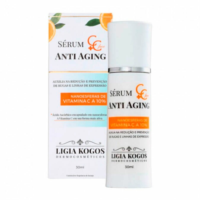 Sérum Anti Aging Ligia Kogos C+C Face - 30ml