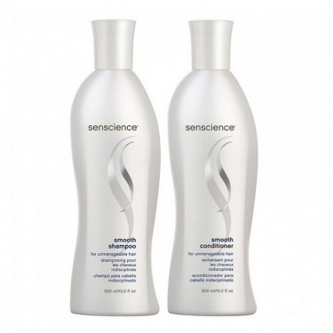 Kit Shampoo e Condicionador Senscience Smooth - 300ml