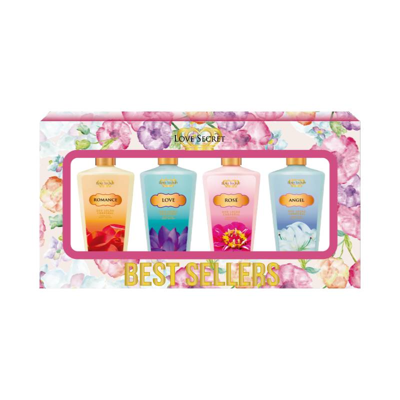 Kit Love Secret Best Sellers Romance Love Rosé Angel - 60ml