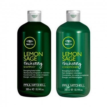 Kit Shampoo e Condicionador Paul Mitchell Tea Tree Lemon Sage Thickening - 300ml
