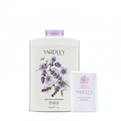 Kit Yardley English Lavender Talco Perfumado e Sabonete