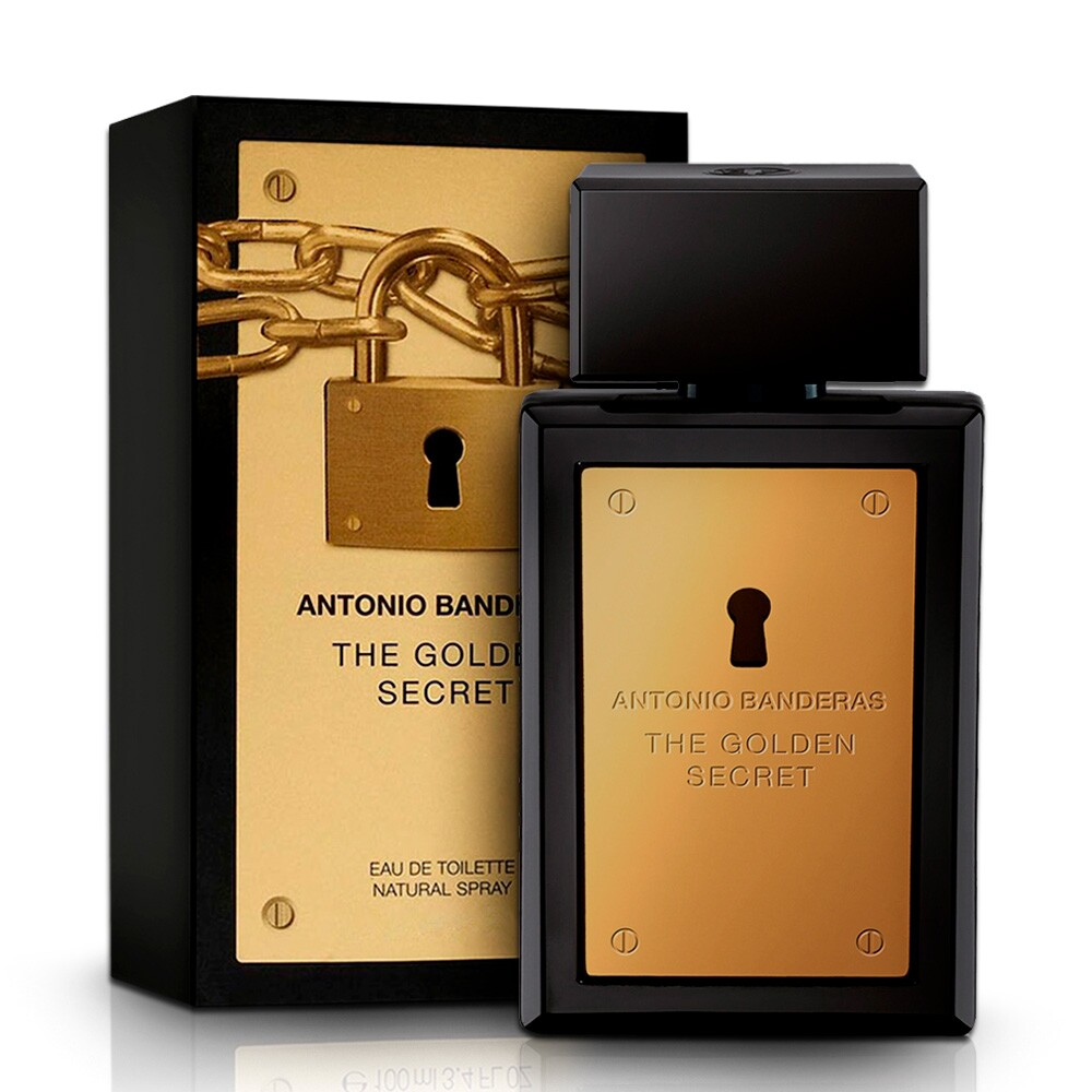 Perfume Masculino Antonio Banderas The Golden Secret EDT - 30ml