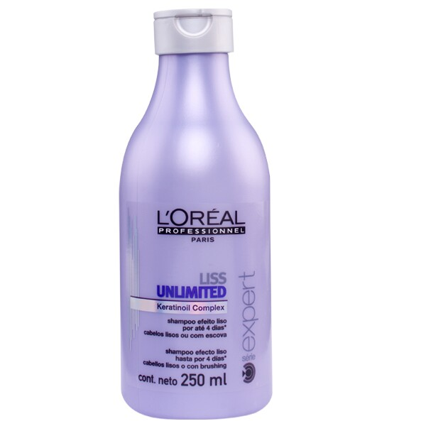 Shampoo Liss Unlimited L\'Oréal - 250ml