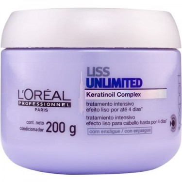 Máscara Liss Unlimited LOréal - 200g